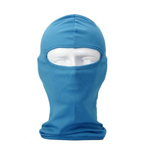 NewNow Candy Color Ultra Thin Ski Face Mask Under A Bike/Football Helmet -Balaclava (Sky Blue)