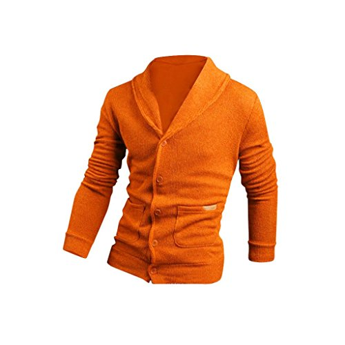Nevera Fashion Autumn Spring Mens Slim Fit Knitwear Pullover Sweater Jacket Coat (L, - Realistic Glasses Fake