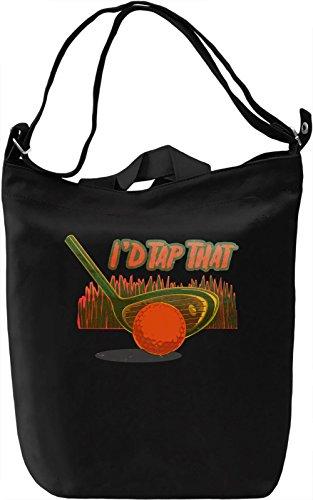I'd Tap That Borsa Giornaliera Canvas Canvas Day Bag| 100% Premium Cotton Canvas| DTG Printing|