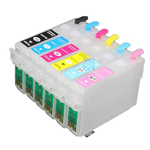 UniPrint T0801 801 refillable ink cartridge for epson R265 R285 R360 RX560 RX585 RX685 P50 PX650 PX700 PX800 PX710 PX720 PX810 PX820