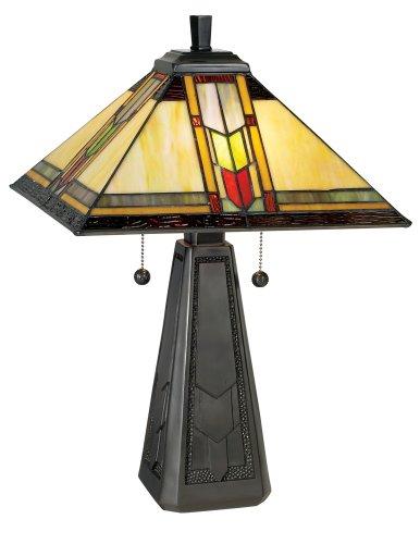 Dale Tiffany TT101387 Mallinson Table Lamp, 14