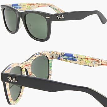 ray ban rare prints  Amazon.com: RAY BAN WAYFARER RARE PRINTS NYC METRO Sunglasses ...