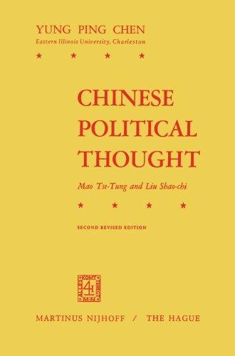 Chinese Political Thought: Mao Tse-Tung and Liu Shao-Chi Pdf