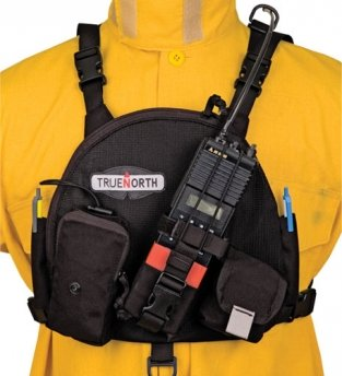 Universal Carry Case Single Radio Chest Pack; Bendix King Radios True North BK-Chest Pack