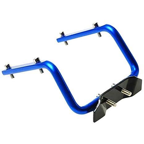 Marco Negro Facibom Soporte Doble para Botella de Agua para Bicicleta con Marco de Aluminio Soporte para Botella