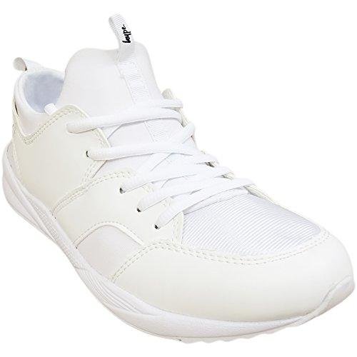 16f 40 Uomo white Nero Hype Black Just Train Bianco Sneaker qRzEg
