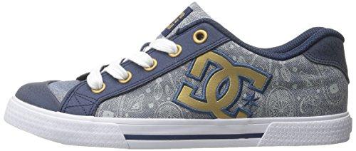 nbsp;sneaker Womens Blue insignia Shoes Blu Se Donna Dc D0302252 Shoe Chelsea qtwR6