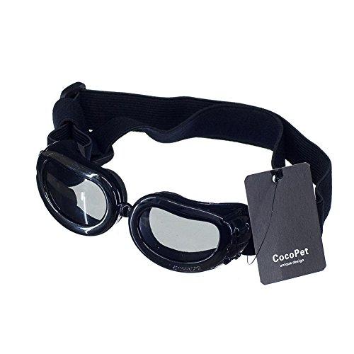 COCOPET [New Version] Cool Dog Goggles Pet Sunglasses Eye Wear UV Protection Waterproof Sunglasses...