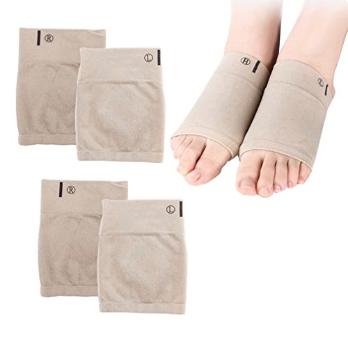 Price comparison product image Foot Socks with Mid foot Gel Pad Foot Care Pain Relief Insole Foot Size L