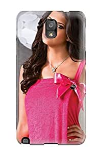 Galaxy Note 3 Case Cover - Slim Fit Tpu Protector Shock Absorbent Case (hipe In Hot Pink Dress)