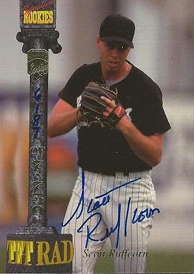(Scott Ruffcorn 1994 Signature Rookies Certified Autograph Card RC #/7750 #C)