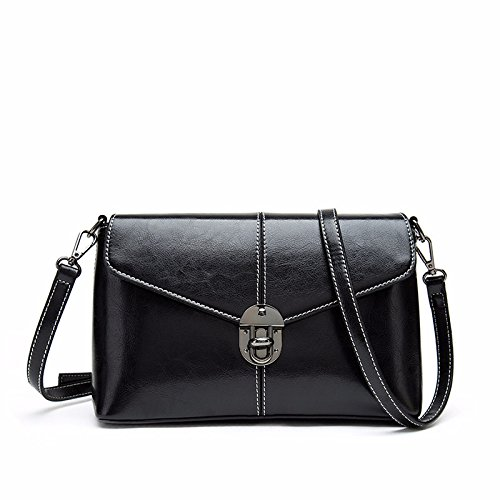 KYOKIM Sac Buckle Fashion Sac Shopping Lady Casual Diagonal Petit Bandoulière à Black Sac Bag rwrRC6q