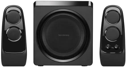 SANDSTROM SBS2112 2.1 WIRELESS SPEAKER SYSTEM: Amazon.co.uk