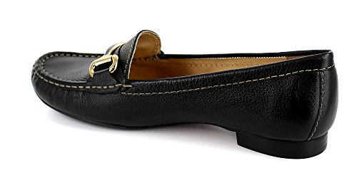 Street Grand New Women's Loafer Style Marc Joseph York Black Grainy Driving xRqCn7XI