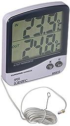 Sper Scientific 800015C Large Display Indoor/Outdoor Thermometer