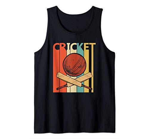 Vintage Cricket Sport shirt - Cricket Player Gift Tank Top]()