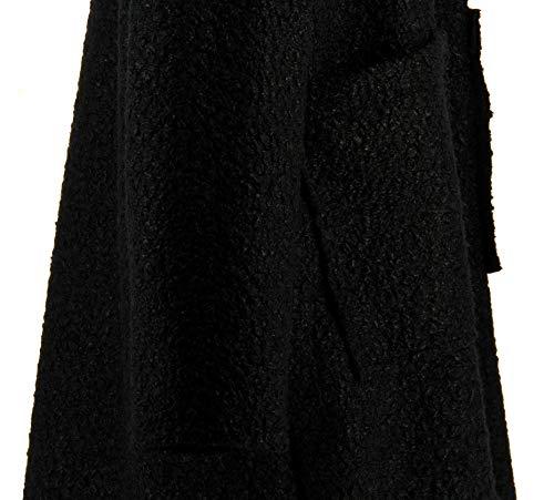 Charleselie94® Bouclette Noir Taille Grande Sonia Manteau Femme Hiver T4qrTn