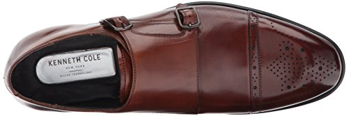 Kenneth Cole Design 10284, Loafers Uomo Marrone (Cognac)