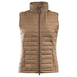 Horze Brown Sport Vest For Women