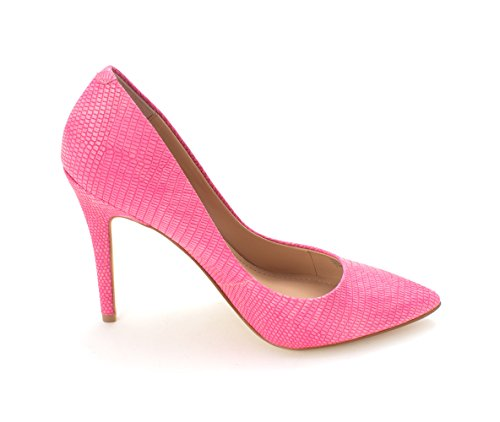 Charles Charles Pointed by Pumps David Womens Deep Toe Pink Classic Snake Pact rqwr6aWp4