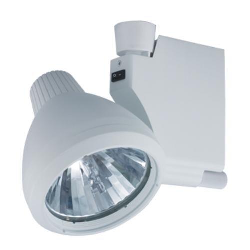 Jesco Lighting HMH905T639-W Contempo 905 Series Metal Halide Track Light Fixture, T6, 39 Watts, White Finish