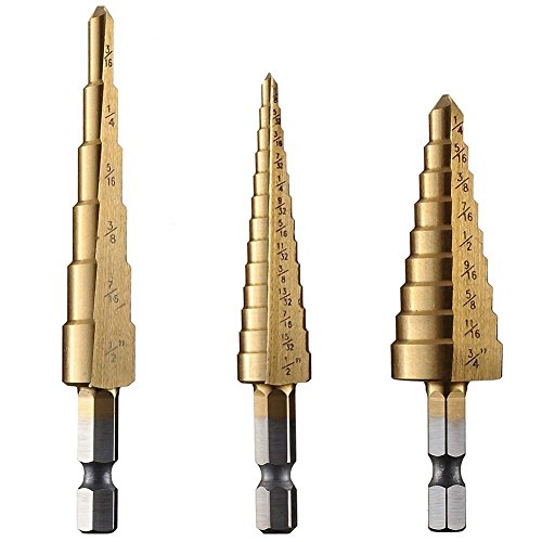 Ganovo Countersink drill bit for Screw Wood Hole Woodworking