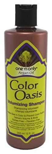 One N Only Argan Oil Shampoo Color Oasis Volumizing 12oz (3 Pack)