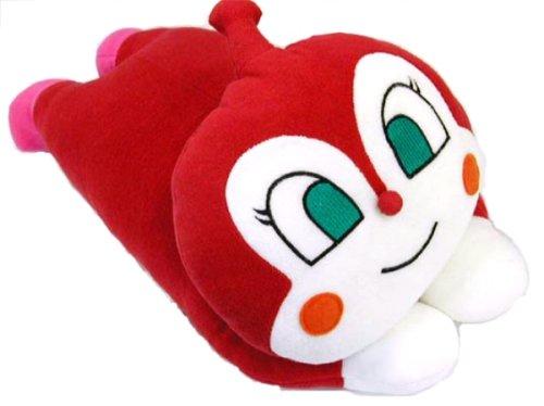 Anpanman / Dokin-chan Pillow Fired About 42 × 22cm