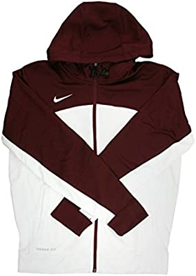 Nike Men's Therma Training Hoodie Red | Nike men, Mens