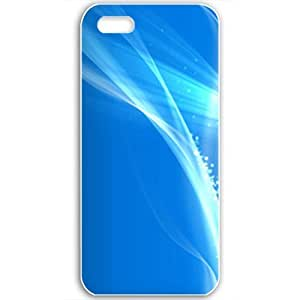 Diy Yourself Apple iPhone 5 5S case covers Customized Gifts Of 3D xYB6aOzjQqe Graphics Blue Background Abstract Wide 3d Abstract Black