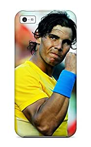 For Audunson Iphone Protective Case, High Quality For Iphone 5c Rafael Nadal Tennis Skin Case Cover