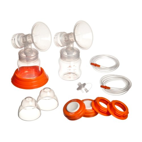 Hygeia Personal Accessory Set (PAS) – Includes Flanges, Tubing, Valves for Hygeia Breast Pump