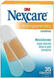 Curativos Transparentes Nexcare® - 35 unidades