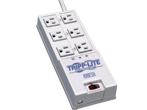 Tripp Lite 6 Outlet Surge Protector Power Strip,