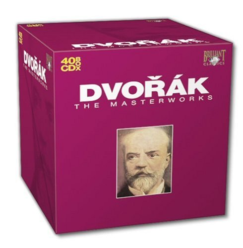 Dvorák: The Masterworks (40CD Box Set) by Brilliant Classics