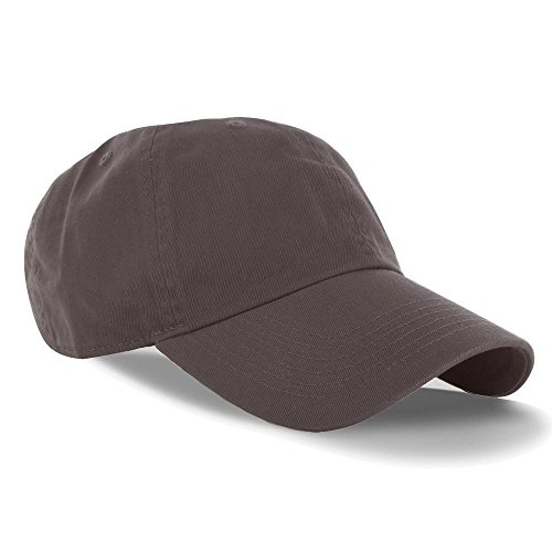 Brown_(US Seller)Curved Bill Plain Baseball Cap Visor Hat Adjustable