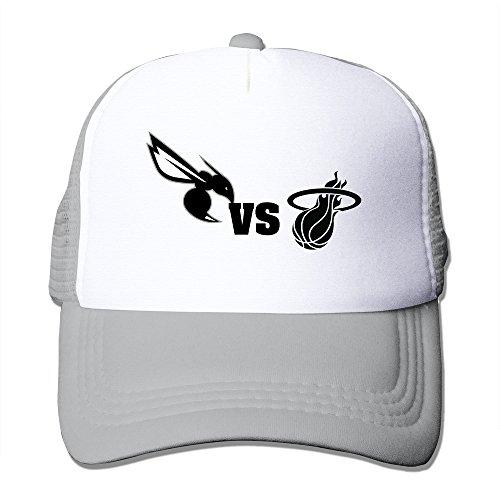 Custom Unisex Flat Billed Basketball Team VS Logo Running Hats Caps - Running Vs Hat Visor