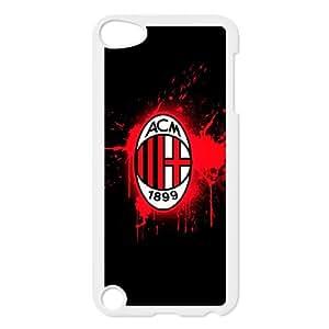 iPod Touch 5 Case White AC Milan Football yvmk