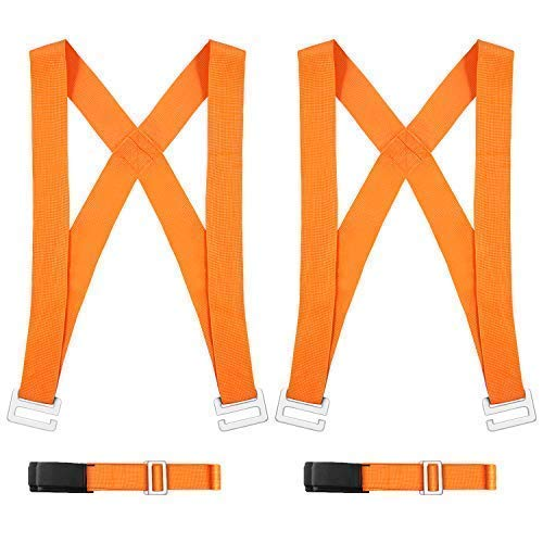 Adjustable Shoulder Lifting Straps, Carrying and Furniture Moving Straps - Easily Move Lift Carry Secure Appliances Heavy Objects Bulky Items Shendian