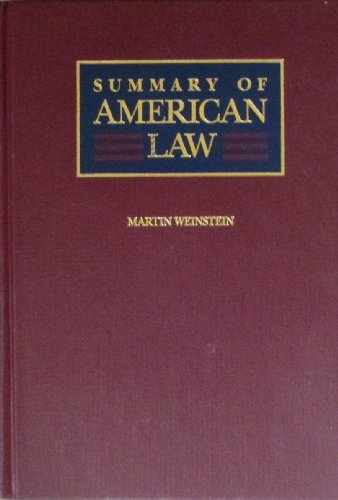 Summary of American Law