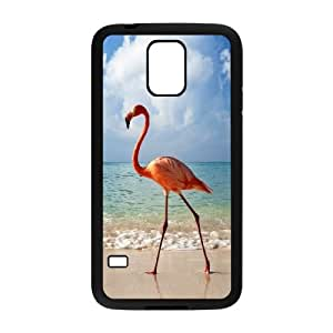 BE A FLAMINGO IN A FLOCK OF PIGEONS Samsung Galaxy S5 Cell Phone Case Black&Phone Accessory STC_158658