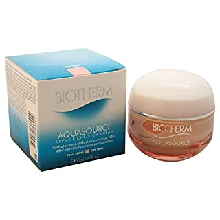 Biotherm Aqua Source 48hr Continuous Release Hydration Cream, Dry Skin, 1.69 Ounce