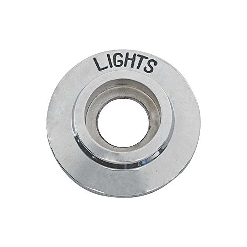- MACs Auto Parts 42-33999 Headlight Switch Bezel - Chrome -