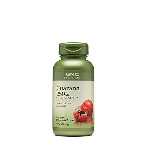 Guarana Liquid Extract - GNC Herbal Plus Guarana 250mg 100 caps