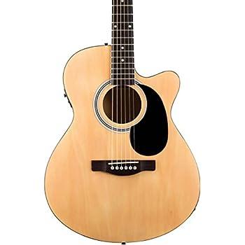 Fender FA-135CE Cutaway Concert Acoustic-Electric Guitar Natural