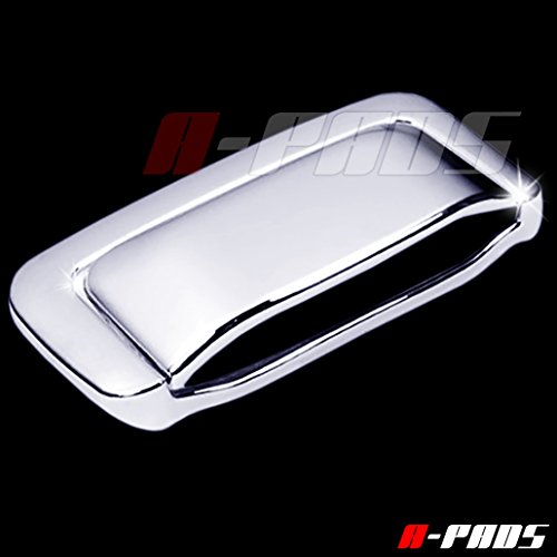 A-PADS Chrome Tailgate Handle Cover for Chevy SUBURBAN & TAHOE 2000-2006 / GMC YUKON+XL 00-06 & DENALI+XL 2001-2006 - WITHOUT Keyhole