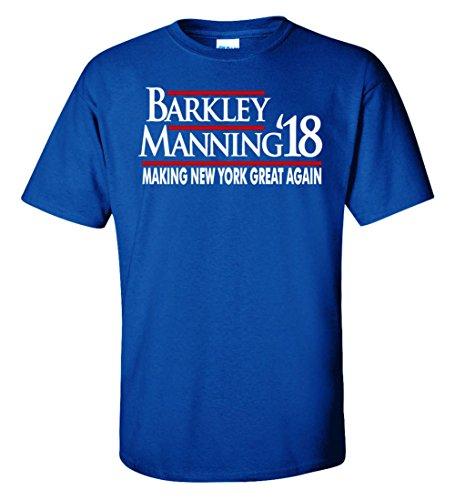 WB SHIRTS Blue New York Barkley Manning 18