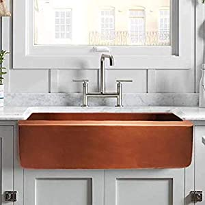 41UrOq1elTL._SS300_ Copper Farmhouse Sinks & Copper Apron Sinks