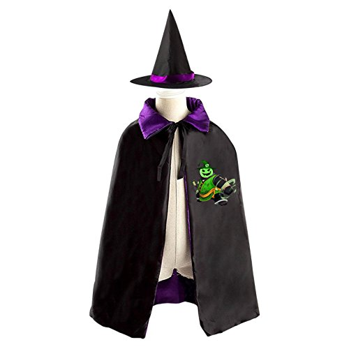 PO Kid Halloween Cloak Vampire Cape Witch Hat Cosplay - Tai Lung Costume