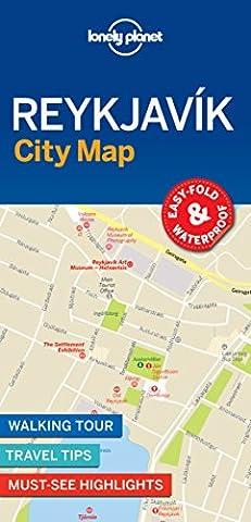 Lonely Planet Reykjavik City Map (Reykjavik City Map)